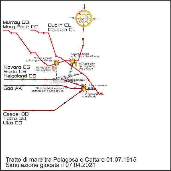 La mappa dello scontro